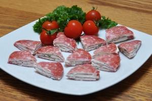 Salami Wedges