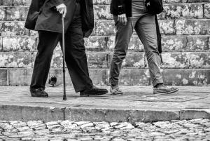 Kelby Walk man cane POR 2014 BW