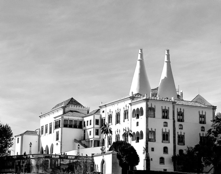 Sintra National Palace POR 2014 BW