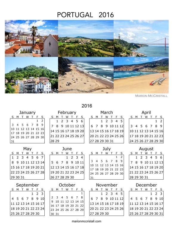 Portugal Calendar 2016